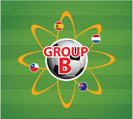 4 color printing: World Cup 2014 Group B