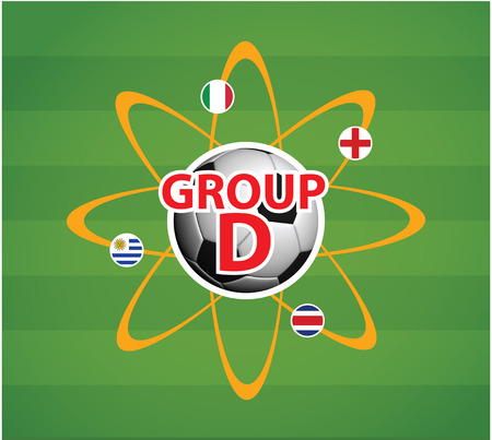 World Cup 2014 Group D Stock Photo - 27540876