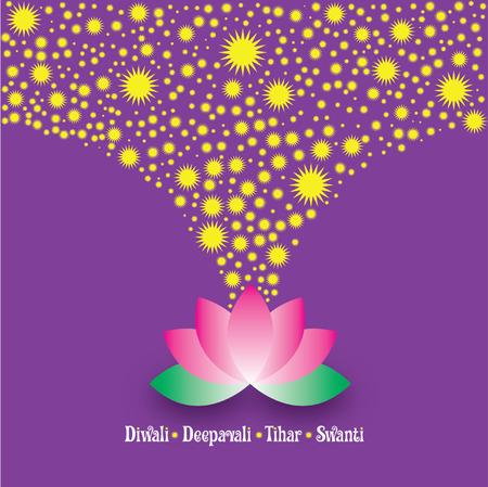 diyas: Diwali Deepavali - lotus