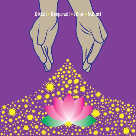 diyas: Diwali Deepavali - Kolam