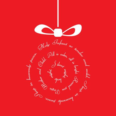 Christmas - Silent Night  Vector