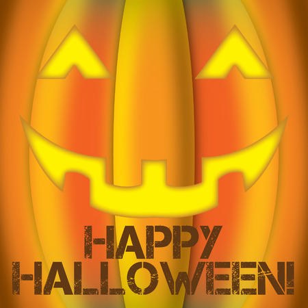 jack o latern: Happy Halloween Illustration