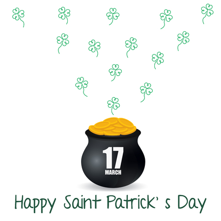 st patty day: Good fortune for St. Patrick s day Illustration