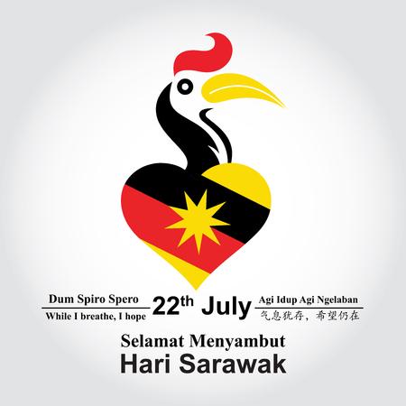 Hari Sarawak - Hornbill