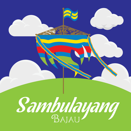 Sambulayang Bajau blow by wind