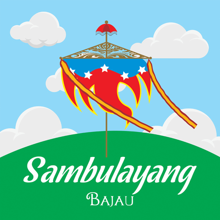 Sambulayang bajau on the hill