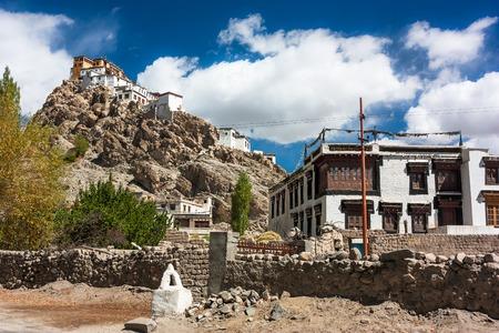 himalayas: Buildings in Himalayas, India