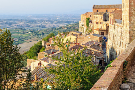 View from the walls of Montepulciano - Tuscany, Italy