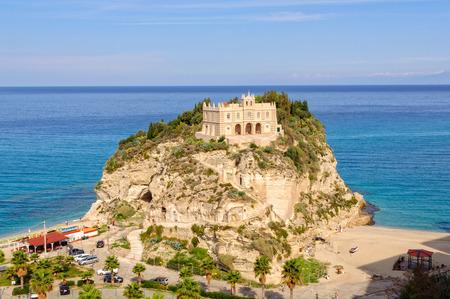 A former 4th century monastery on top of the Sanctuary of Santa Maria Island - Tropea, Calabria, Italy