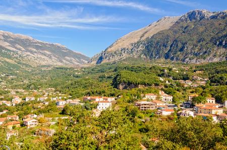 maratea: Driving towards the mountain pass from Maratea - Basilicata, Italy