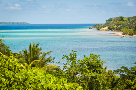 Magnificent Fatumaru Bay in Port Vila, Efate Island, Vanuatu