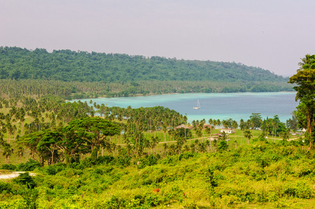 The sheltered Velit Bay is about a half-hour drive from Luganville on the east coast - Espiritu Santo, Vanuatu
