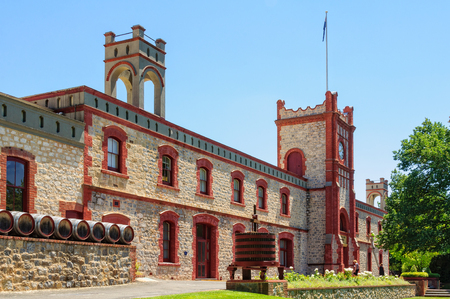 Yalumba Winery in the Barossa Valley  is Australia's oldest family-owned winery today - Angaston, SA, Australia, 13 February 2013 報道画像