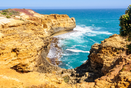 View at the Grotto - Port Campbell, Victoria, Australia