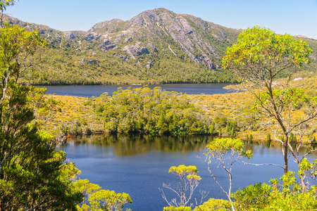 Lake Lilla and Dove Lake in the Cradle Mountain-Lake St Clair National Park - Tasmania, Australia