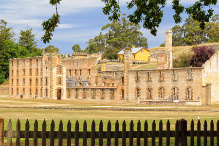 The Penitentiary at the Port Arthur Historic Site - Tasmania, Australia, 7 February 2014