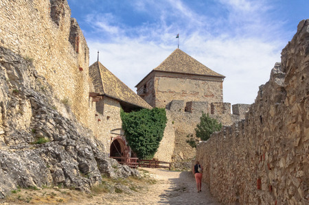 Up to the gate of the inner castle - Sumeg, Hungary