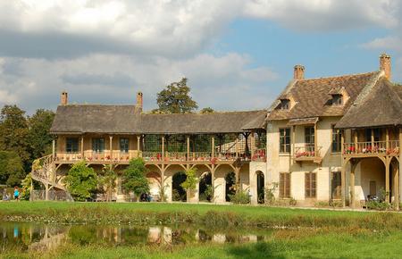 Marie-Antoinette's residence in the Queen's Hamlet (Hameau de la Reine) - Versailles, France, 15 September 2007 報道画像