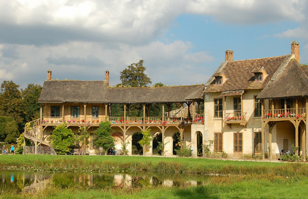 Marie-Antoinettes residence in the Queens Hamlet (Hameau de la Reine) - Versailles, France, 15 September 2007