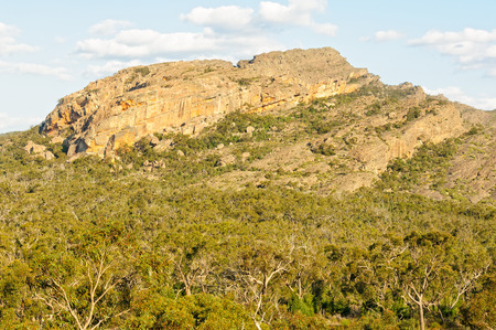 Mount Hollow in the Grampians Ranges of Victoria, Australia Stock Photo