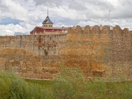 Remains of the city walls - Mansilla de las Mullas, Castile and Leon, Spain