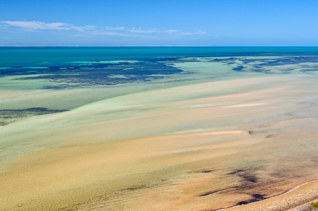 Denham Sound from the Eagle Bluff Lookout - Denham, WA, Australia
