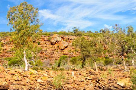 Murchison Gorge is an ancient riverine gorge in Mid West Western Australia - Kalbarri, WA, Australia 写真素材
