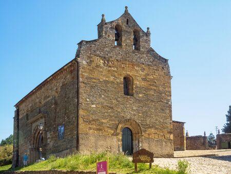 The 11th century Romanesque Church of Santiago - Villafrance del Bierzo, Castile and Leon, Spain
