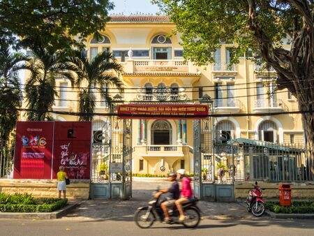 Museum of Fine Arts in a beautiful French colonial building - Ho Chi Minh City, Vietnam