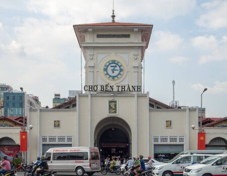 Ben Thanh Market is one of the must-sees in Saigon - Ho Chi Minh City, Vietnam Publikacyjne