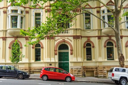 The Royal Naval House used to be a Royal Australian Navy amenities and accommodation building - Sydney, NSW, Australia