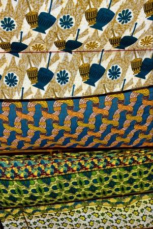 a cotton texture in zanzibar Stock Photo