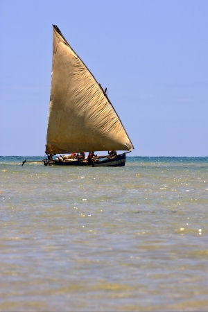 a boat for fish in nosy be madagascar
