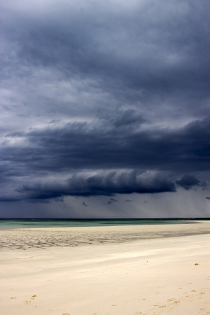 blu: madagascar coastline,nosy iranja beach