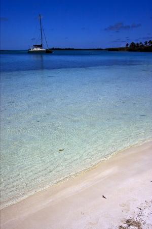 le lagon bleu au Mexique Isla Contoy
