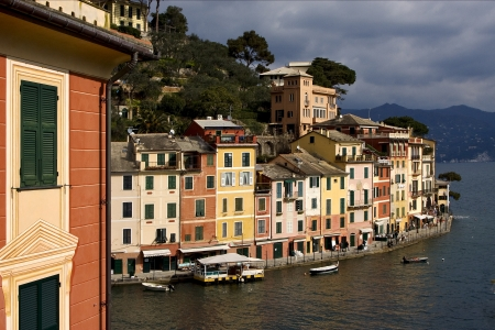 the  village of  portofino in the north of italy,liguria Stock Photo - 16056353