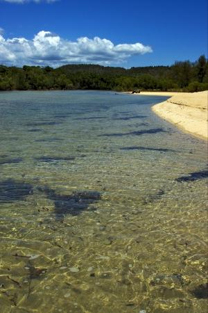 nosy: nosy mamoko madagascar lagoon and coastline