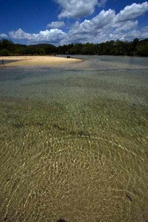 nosy mamoko madagascar lagoon  and coastline  Stock Photo