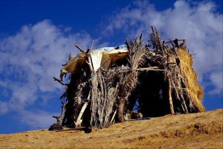 matmata: cabin in the desert of sahara,matmata