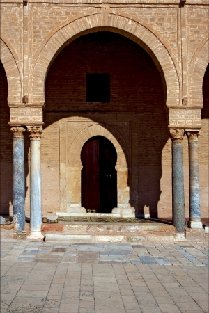 Great Mosque of Kairouan Tunisia  the fourth most sacred place of islam photo
