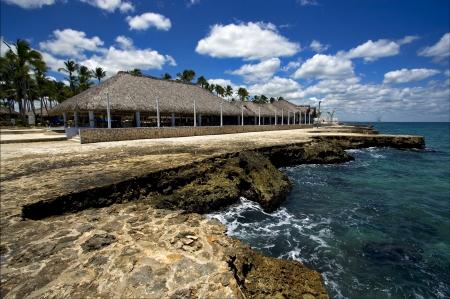 republica dominicana coastline m�rmol paz y tranquilidad cerca de la playa del Caribe photo