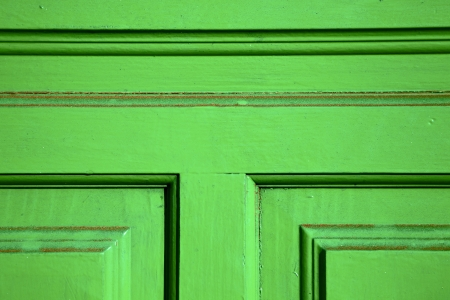 lanzarote abstract door wood in the green spain photo
