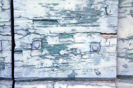 Sumirago abstraite laiton brun rouille dans un heurtoir de porte ferm�e curch bois Lombardie Varese en Italie