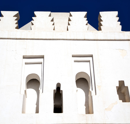 maroc: mosque muslim the history  symbol  in morocco  africa  minaret religion and  blue    sky