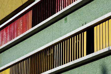la boca: abstract texture  wall in office la boca buenos aires argentina