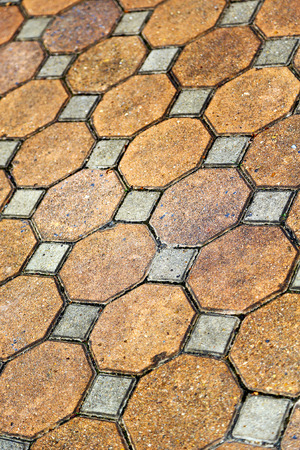 asia thailand kho samui  abstract cross texture floor ceramic  tiles in the temple photo