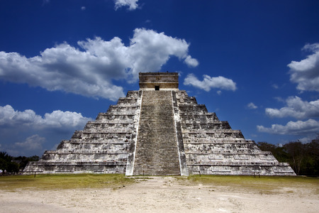kukulkan: the stairs of chichen itza temple,kukulkan ,el castillo,quetzalcoatl