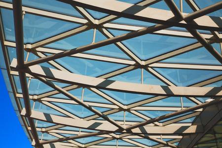 abstract metal in englan london railing steel and background Standard-Bild