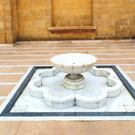 casbah: fountain in morocco africa old antique construction  mousque