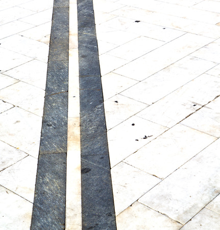 curch: busto arsizio  street lombardy italy  varese abstract   pavement of a curch and marble